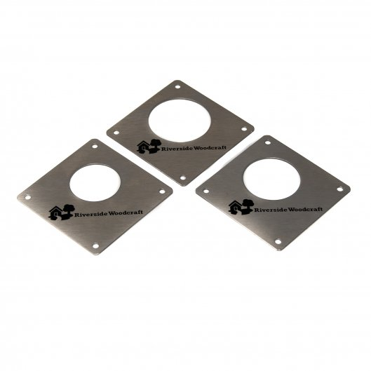 Nest Box Cover Plates Stainless Steel set of 3, Accessories