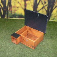 Riverside Golden Brown Hedgehog House Starter Kit