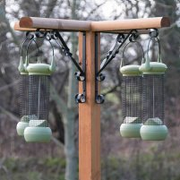 Bird Feeding Station Deluxe c/w 2 side tables