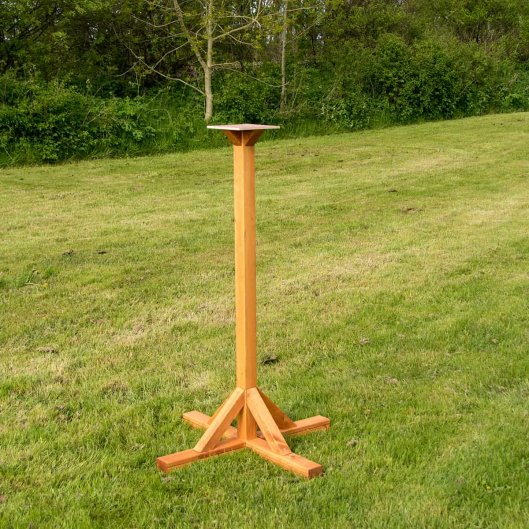 Bird Table Stand Large, Bird Tables