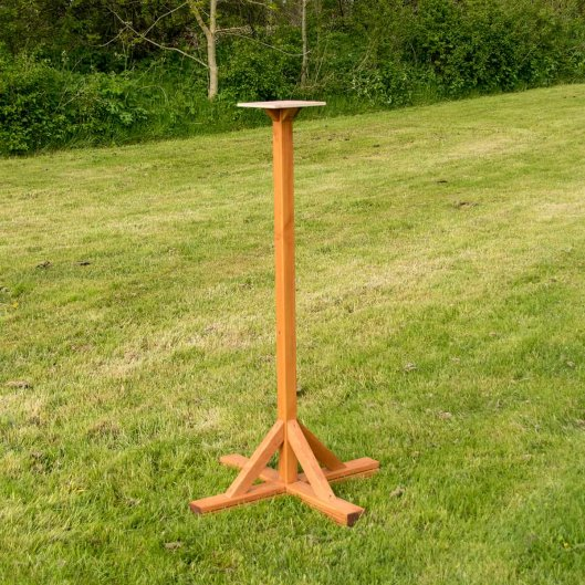 Bird Table Stand Medium, Bird Tables