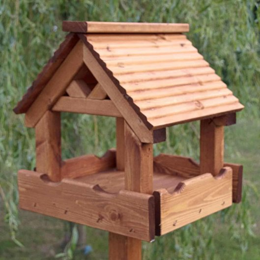 Lodge Bird Table, Bird Tables