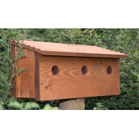 Woodcraft Sparrow Bird Nest Box
