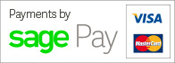 Secure Payment via Sagepay